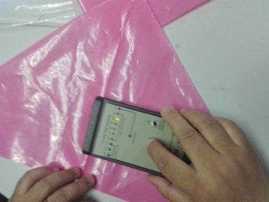 Pink Anti-Static Bag