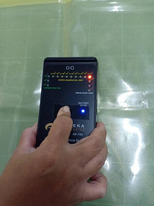 พลาสติกป้องกันไฟฟ้าสถิตย์-LDPE Anti-Static