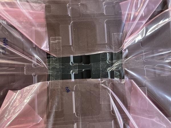 ถุงป้องกันไฟฟ้าสถิตใส่เทรย์พลาสติก